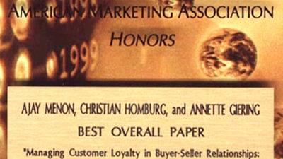 San Francisco (California), 1999, Best Overall Paper 1999