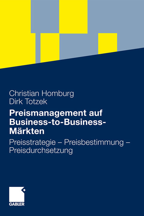 [Englisch] Preismanagement auf Business-to-Business-Märkten